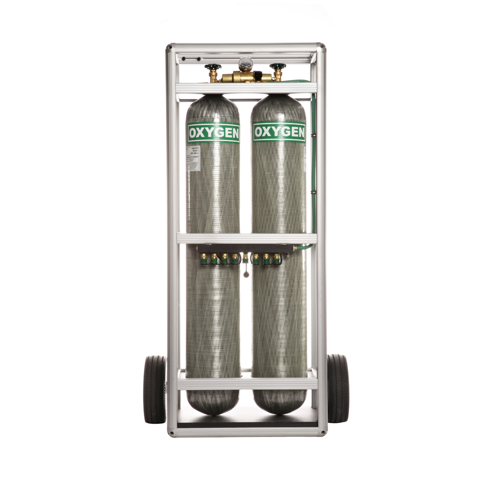 Twin Volume Oxygen Storage System (TVOSS)